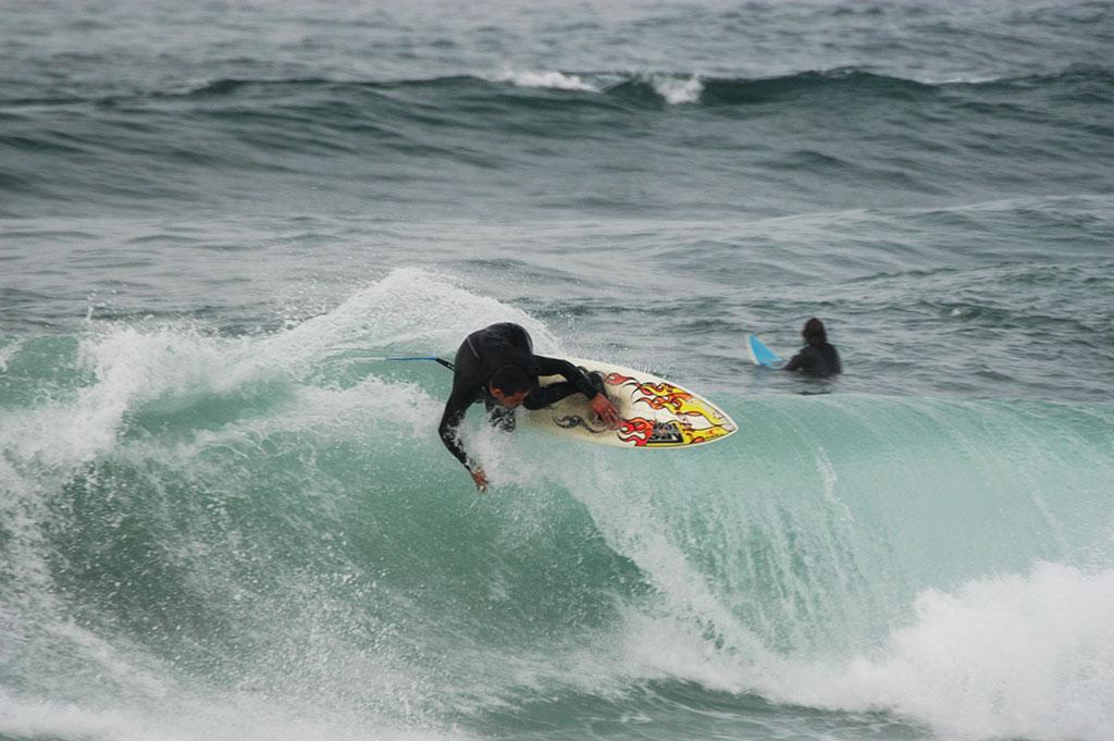 Tubos en Salinas con Lucas García Surf