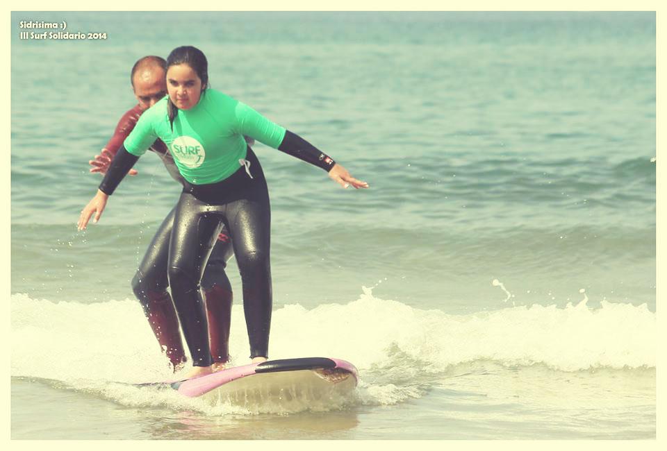 Primeros pasos en el Surf con Lucas García